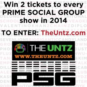 Win tickets to EVERY Prime Social Group show in 2014! Preview