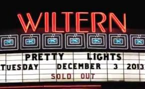 Pretty Lights video + review / The Wiltern (Los Angeles, CA) / December 3, 2013