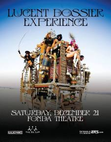 Win tickets to see Lucent Dossier Experience in LA this Saturday!