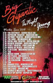 Dom Lalli collabs with Amp Live, Big G releases The Night Is Young tour dates