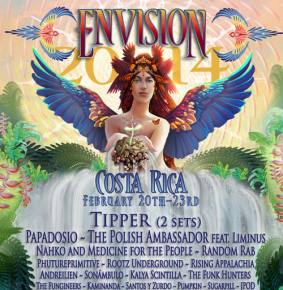 Envision 2014 (Feb 20-23 - Uvita, Costa Rica) Preview