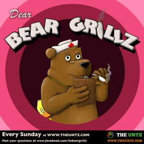 Dear Bear Grillz: Menstruation, money, and marmots