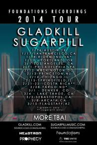 TheUntz.com presents Gladkill, Sugarpill on Foundations Recordings 2014 tour