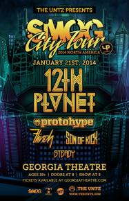 TheUntz.com presents SMOG City Tour with 12th Planet, ProtoHype (January 21 - Athens, GA) Preview