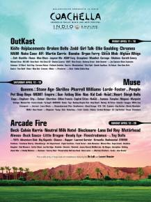 Coachella (April 11-13 & 18-20 - Indio, CA) reveals MONSTER lineup Preview