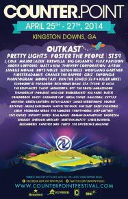 CounterPoint Festival (April 25-27 - Kingston Downs, GA) reveals full lineup!
