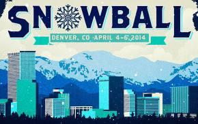 SnowBall 2014 will be April 4-6 Park at Sports Authority Field in Denver, CO!