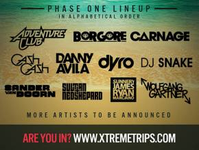 Electro Beach (March 2014 - Puerto Vallarta, Mexico) reveals Phase 1 lineup!