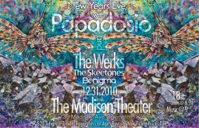Papadosio NYE - FREE Ticket contest