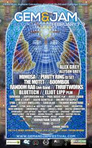Gem & Jam Festival (Tucson, AZ - Feb 7-9) Preview