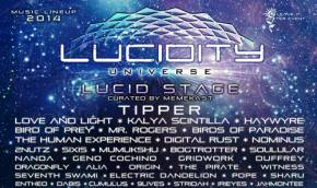Lucidity Festival (April 11-13 - Santa Barbara, CA) unveils monster lineup, new Tipper video!