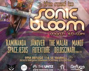 Sonic Bloom announces Tipper will headline 2014 festival, roving lineup to tour country