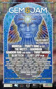 Gem & Jam Festival (Tucson, AZ - Feb 7-9) Mixtape Preview