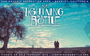 Lightning in a Bottle (May 22-26 - Bradley, CA) reveals new location, dates