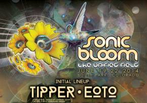 SONIC BLOOM reveals 2014 location, initial lineup!