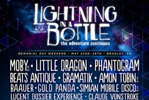 Lightning in a Bottle (May 22-26 - Bradley, CA) reveals lineup!