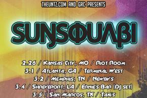 TheUntz.com presents SunSquabi spring tour!