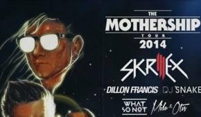 Skrillex announces MotherShip 2014 Tour