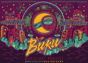 BUKU Music + Art Project (March 21-22 - New Orleans, LA) Preview
