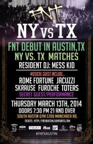 NY boxing event Friday Night Throwdown invades SXSW