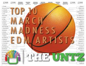 Top 10 March Madness EDM Artists Preview