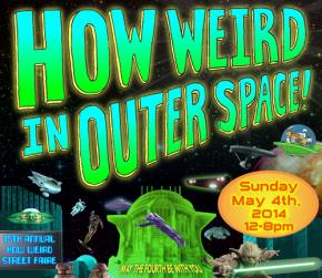 Come get weird with us on May the Fourth, San Francisco! How Weird?