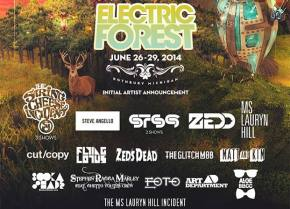 Electric Forest (June 26-29 - Rothbury, MI) reveals Phase 2 lineup! Preview