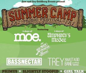 Summer Camp (May 23-25 - Chillicothe, IL) reveals Phase 3 lineup! Preview