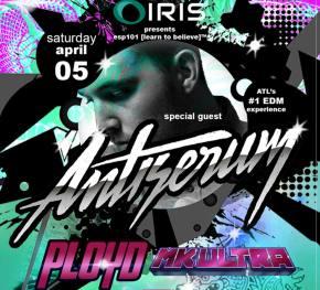 IRIS Presents brings Antiserum to Atlanta April 5 Preview