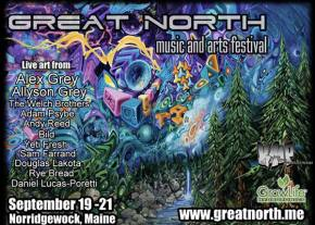 Great North (Sept 19-21 - Norridgewock, ME) reveals Phase 1 lineup!
