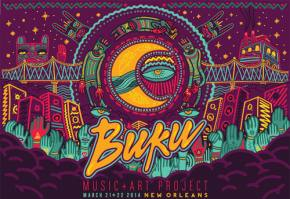 Hanging with the BUKREWE: a taste of BUKU Music + Art Project 2014