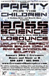 Bass Science Benefit in Denver