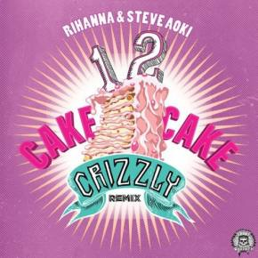 The Bloody Beetroots x Rihanna ft Steve Aoki - 1 2 Cake Cake (Crizzly Remix)
