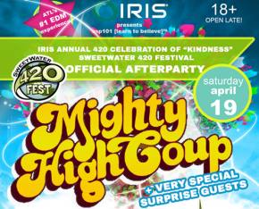 IRIS Presents first EDM stage at Sweetwater 420 Festival in Atlanta this weekend