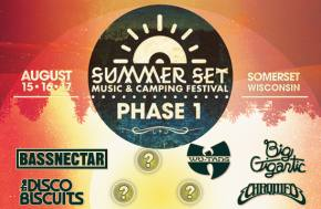 Summer Set Music Festival (Aug 15-17 - Somerset, WI) reveals phase 1 lineup