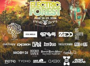 Electric Forest (June 26-29 - Rothbury, MI) reveals Phase 3 lineup!