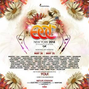 Electric Daisy Carnival New York (May 24-25 - East Rutherford, NJ) Preview
