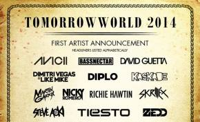 TomorrowWorld 2014 (Sept 26-28 - Atlanta, GA) reveals massive Phase 1 lineup!