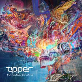 [VIDEO] Watch it grow: Android Jones creates album artwork for Tipper's Forward Escape before your eyes