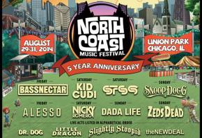 North Coast (Aug 29-31 - Chicago, IL) reveals monster initial lineup!