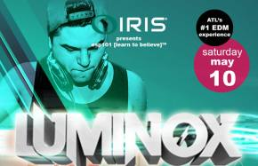 IRIS Presents brings Luminox to Atlanta May 10
