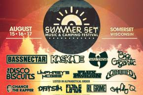 Summer Set Music Festival (Aug 15-17 - Somerset, WI) reveals phase 2 lineup