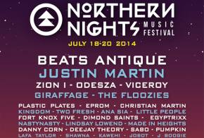 Northern Nights (July 18-20 - Piercy, CA) fills out its lineup with some heavy-hitters