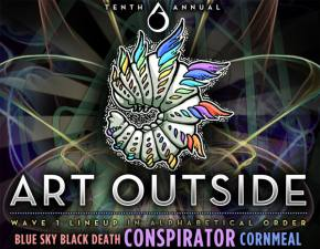 Art Outside (October 24-27 - Rockdale, TX) unleashes massive Wave 1 lineup