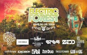 Electric Forest (June 26-29 - Rothbury, MI) adds Umphrey's McGee, Manic Menert