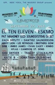 Music and yoga festival V Elements adds second date September 27 in San Diego, CA