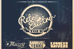 Retro Electro recap with Krooked Drivers, Marvel Years, and MuzzY in Normal, IL (April 26, 2014)