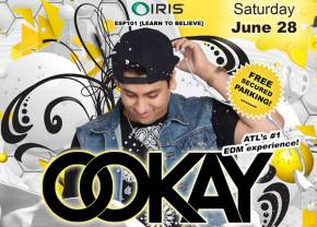 IRIS Presents brings Ookay to Atlanta June 28 Preview