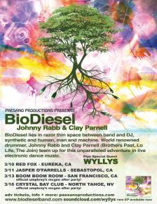 BIODIESEL - Carbon Confidential West Coast Tour