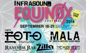 Infrasound EQUINOX 2014 Early Birds sell out within seconds of Phase 1 lineup being revealed!